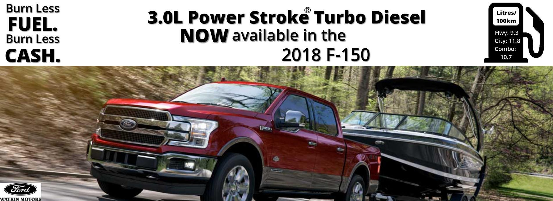 Vernon New And Used Car Truck Dealer Watkin Motors Ford Location Of Fuel Filter On A 2012 650 2018 F 150 Power Stroke Diesel