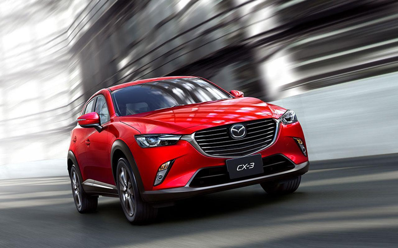 Certified Pre-Owned Mazda CX-3 Red