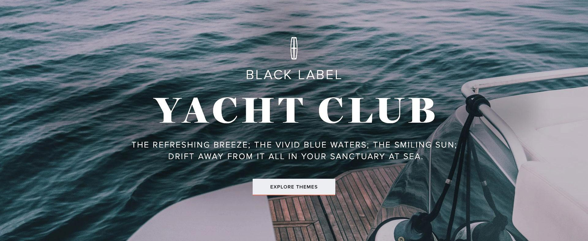 Lincoln Black Label Yacht Club | South Bay Lincoln