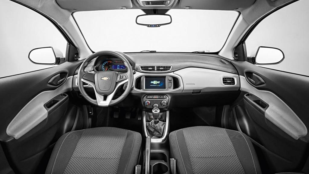 Interior do Chevrolet Onix