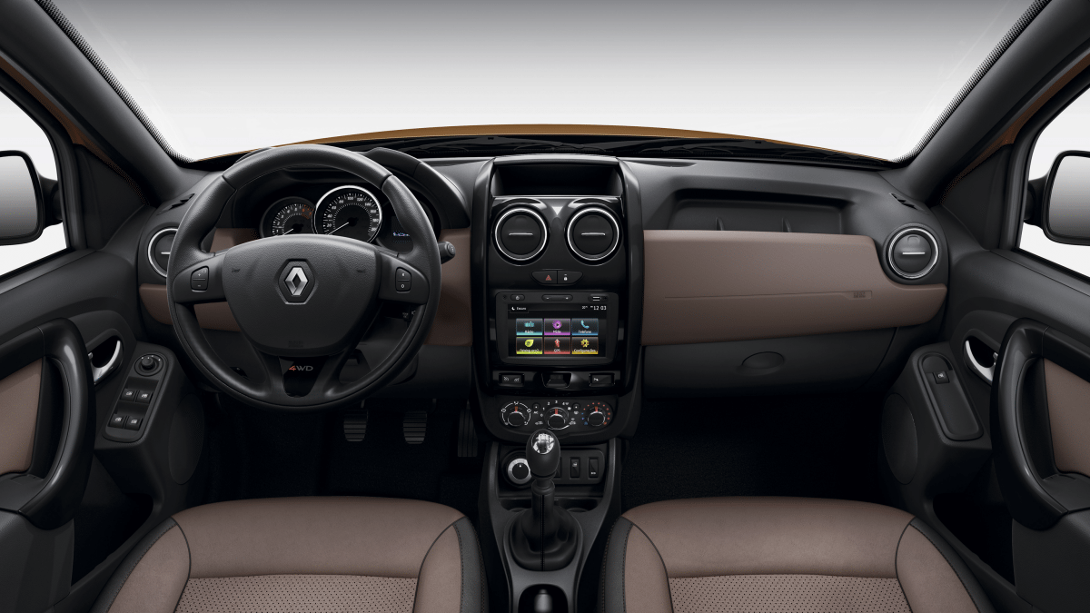 Interior Renault Duster 2018