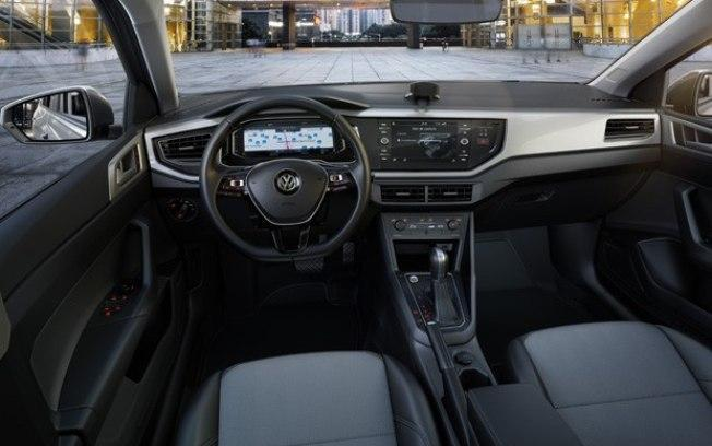 VW Virtus 2018 - interior