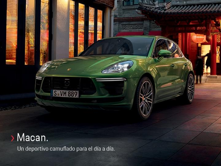 Macan Porsche Center Lima Perú