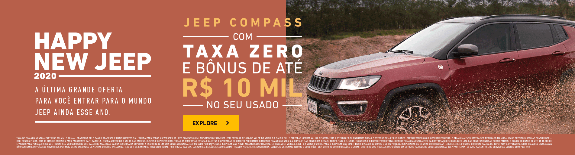 Jeep Compass Happy New Jeep - Fipal Jeep