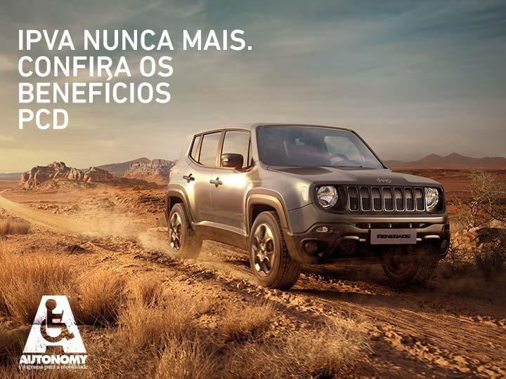 Jeep Renegade PcD