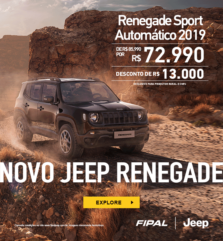Renegade Sport AT - Venda Direta