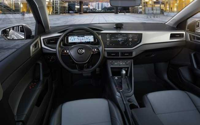 VW Virtus - interior
