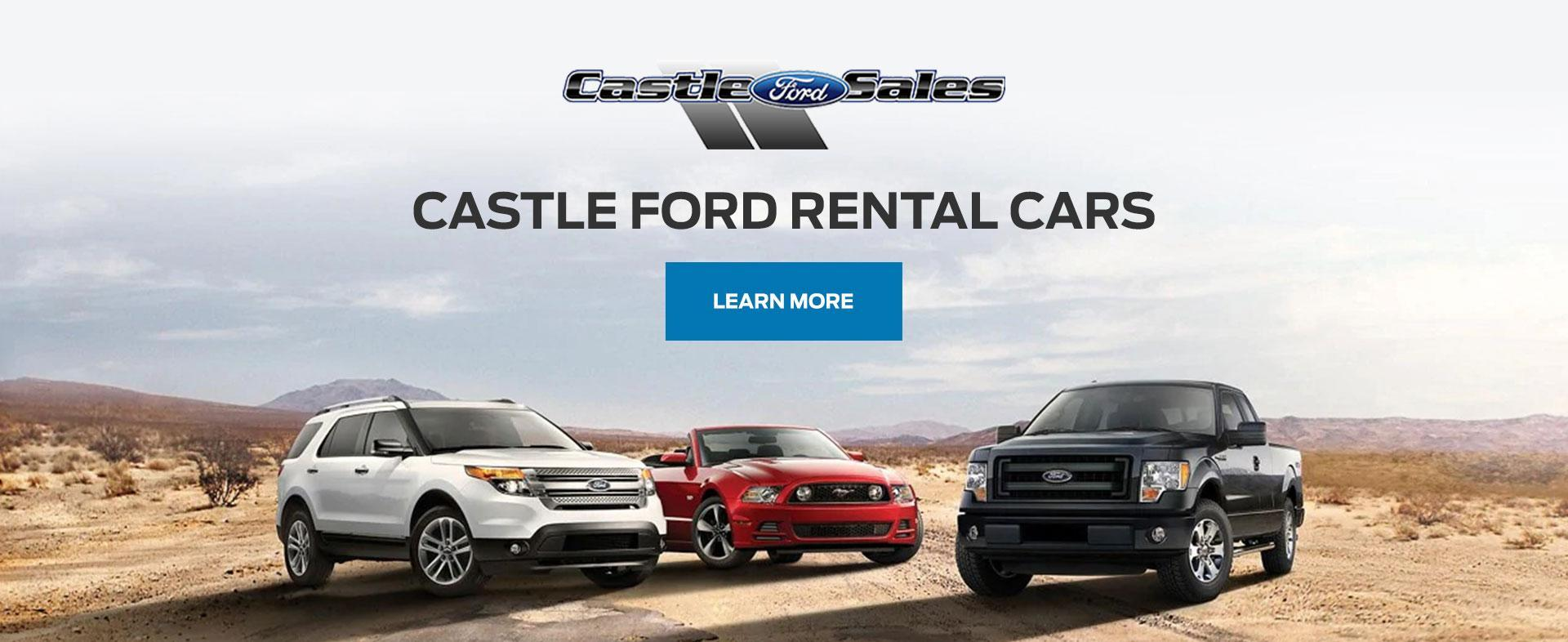 Rental Cars at Castle Ford Sales