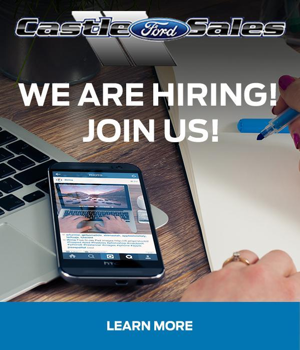 Join Out Team at Castle Ford Sales