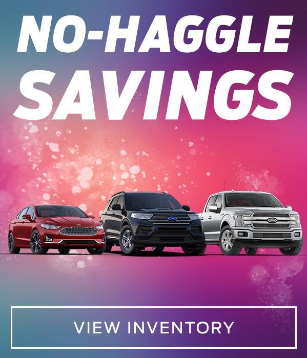 No Haggle Savings on Used Inventory at Castle Ford Sales