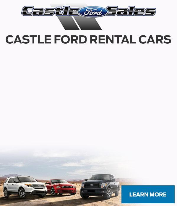 Rental Cars at Castle Ford