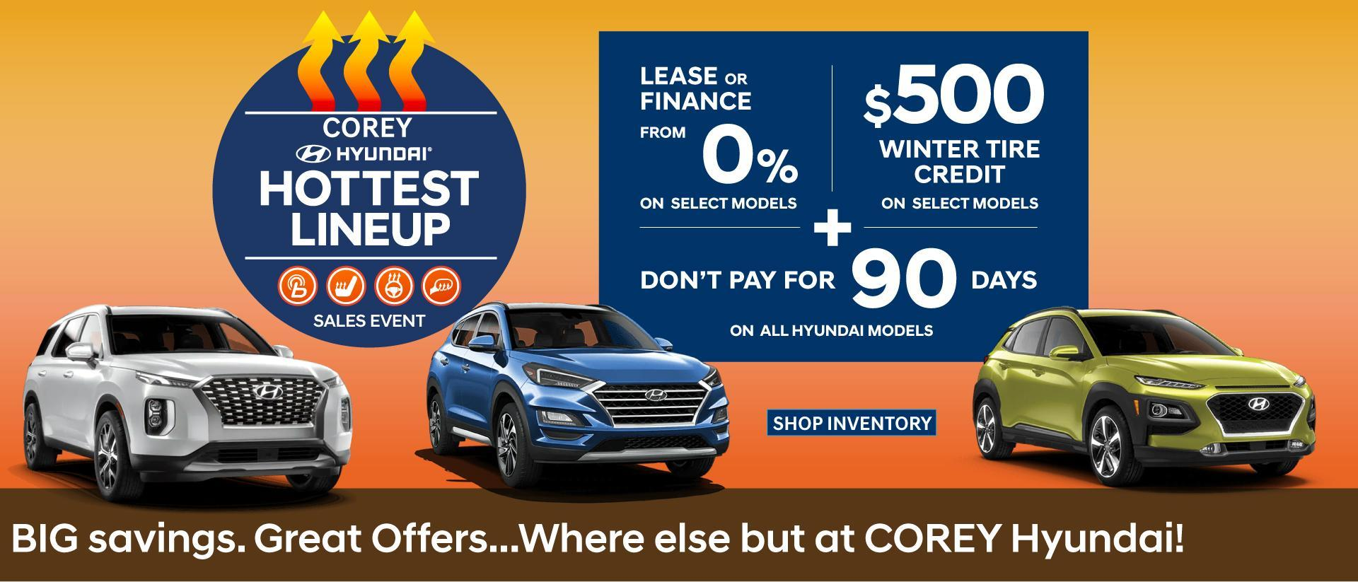 Corey Hyundai - Hottest Event