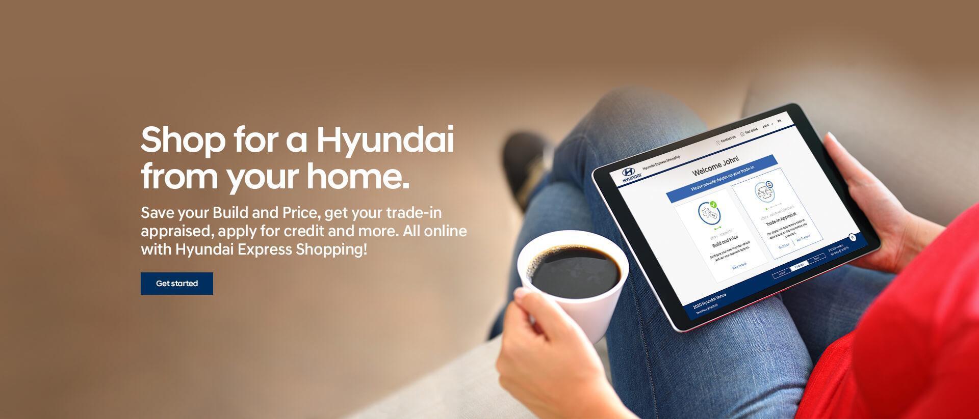 Shop from Home with Hyundai Express Shopping | Corey Hyundai