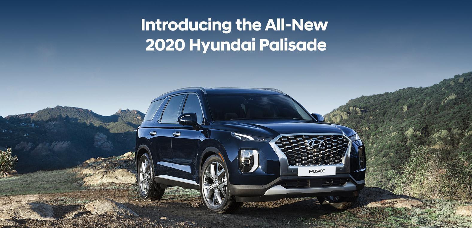2020 Hyundai Palisade Black Exterior | Corey Hyundai