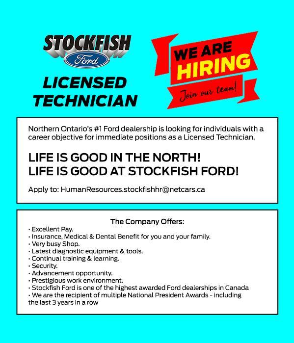 We Are Hiring Licensed Technician