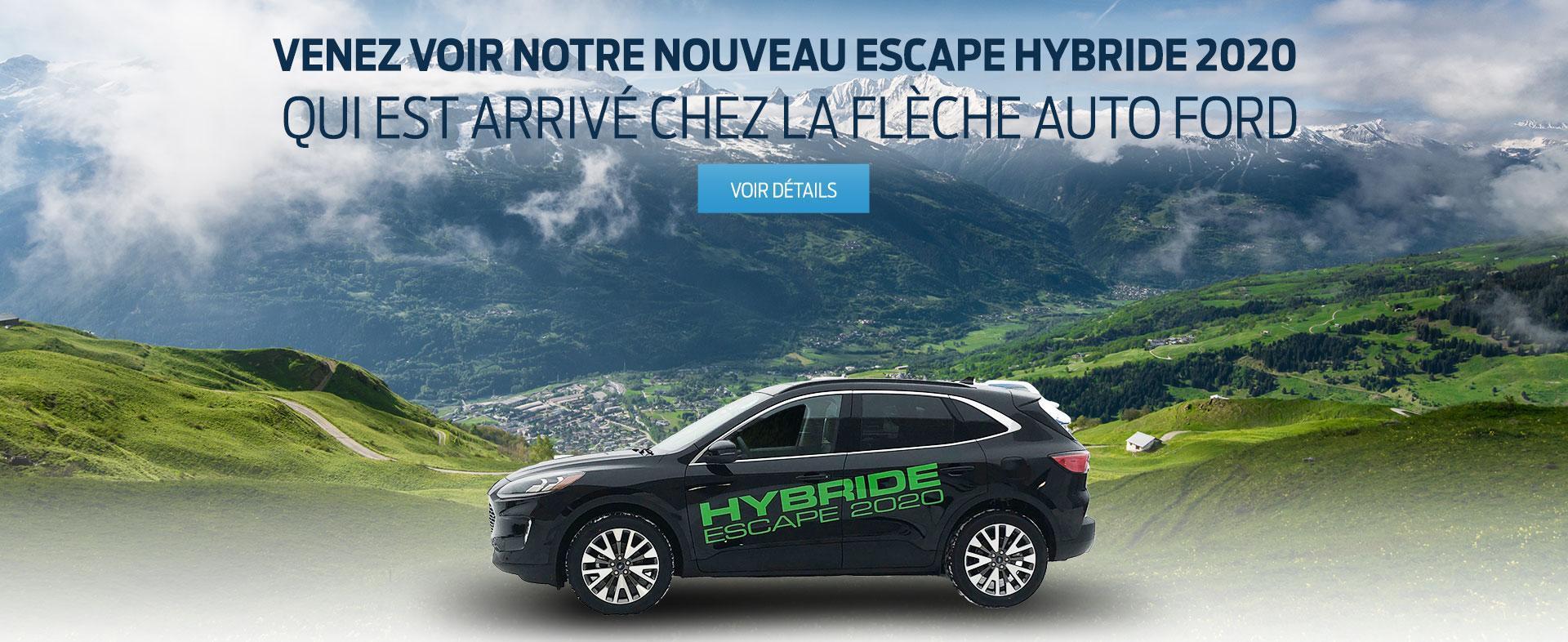 Ford Escape Hybrid | La Flèche Auto