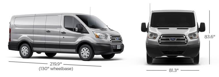 2017 Ford Transit Van Specs