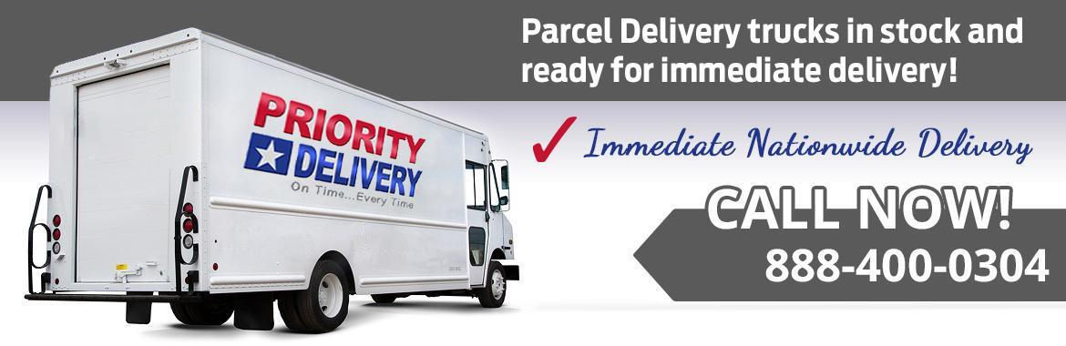 FedEx Parcel Delivery Trucks in stock!