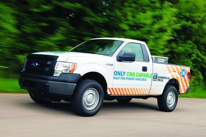 Converting to CNG Fuel System in Work Trucks