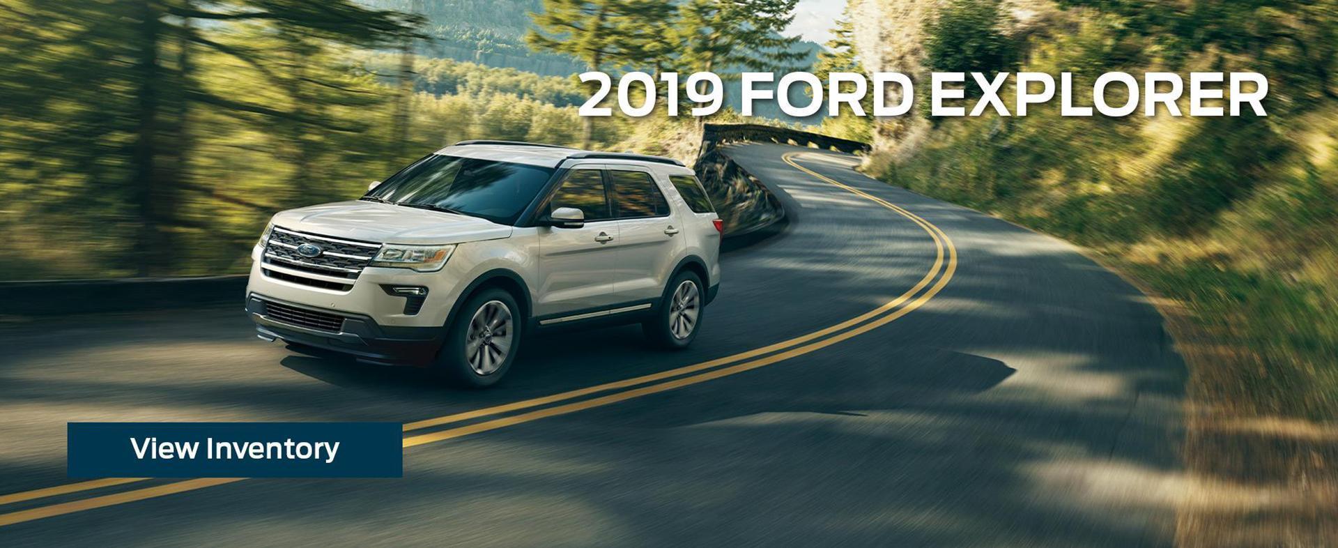 New 2019 Ford Explorer White