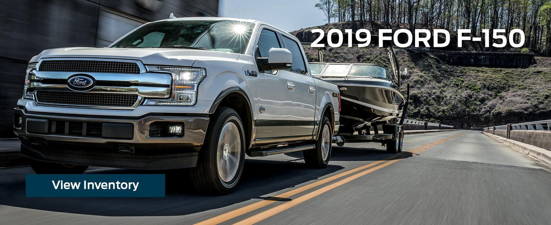 New 2019 Ford F-150 White