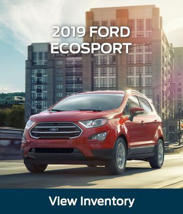 New 2019 Ford Ecosport Red