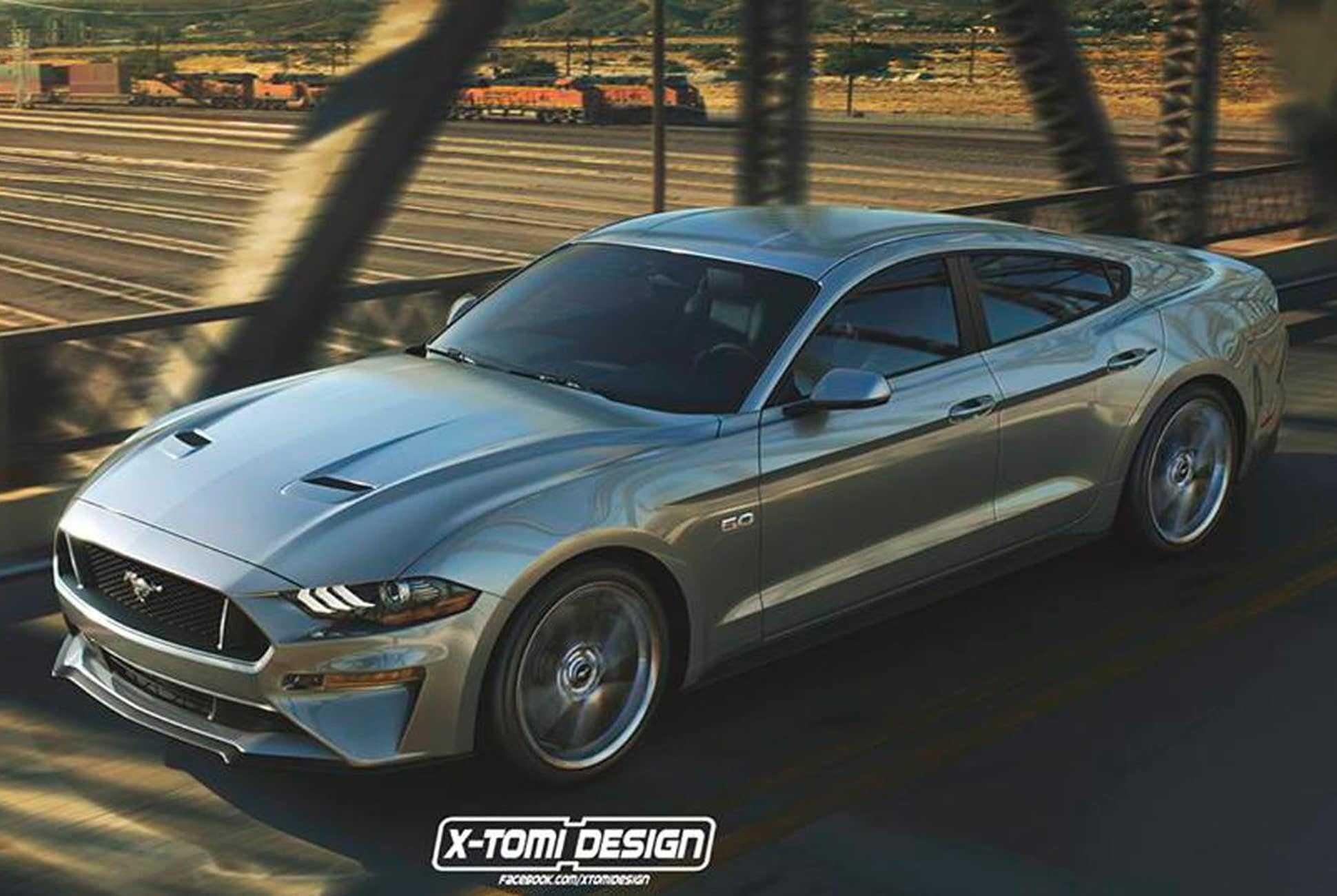 Une Mustang 4 portes pourrait arriver bientôt