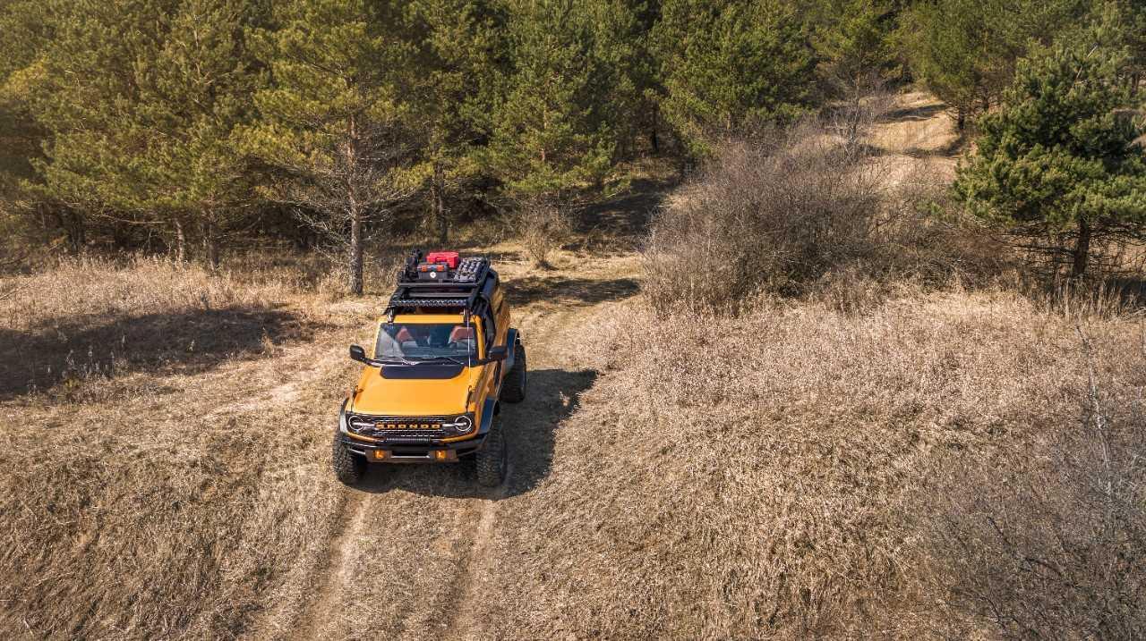 Cinq choses cool sur le Ford Bronco