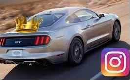 La voiture la plus instagrammée est une Ford