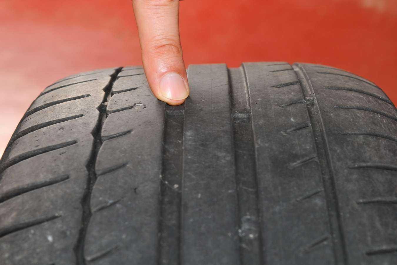 Ne jugez pas vous-même de l'usure de vos pneus