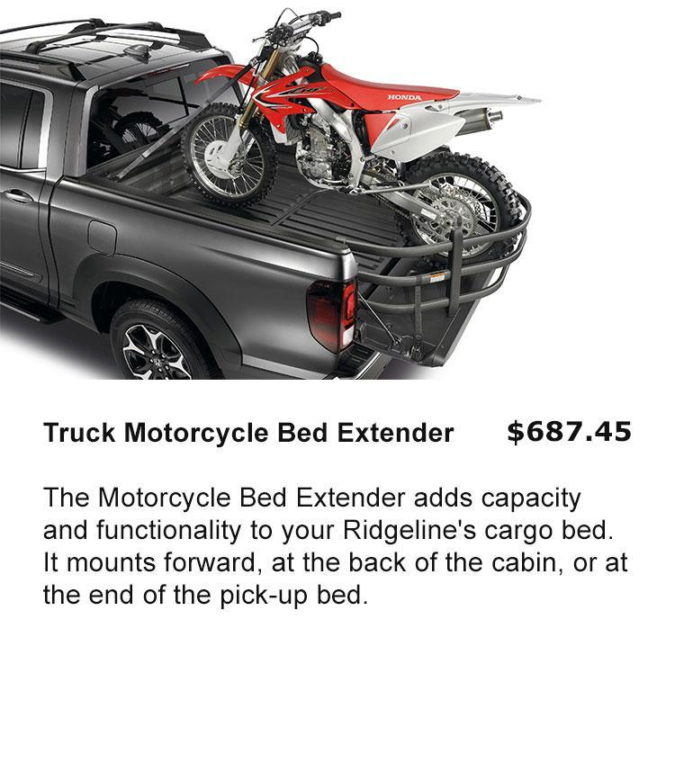 Truck Motorcycle Bed Extender