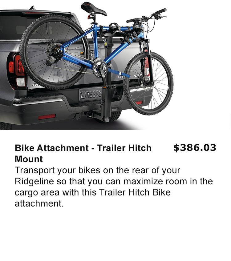 Bike Attachment - Trailer Hitch Mount