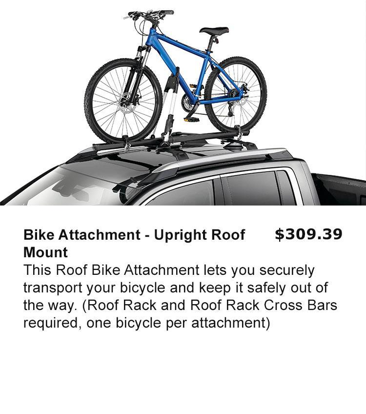 Bike Attachment - Upright Roof Mount
