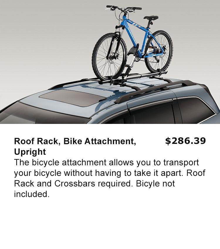 Roof Rack, Bike Attachment