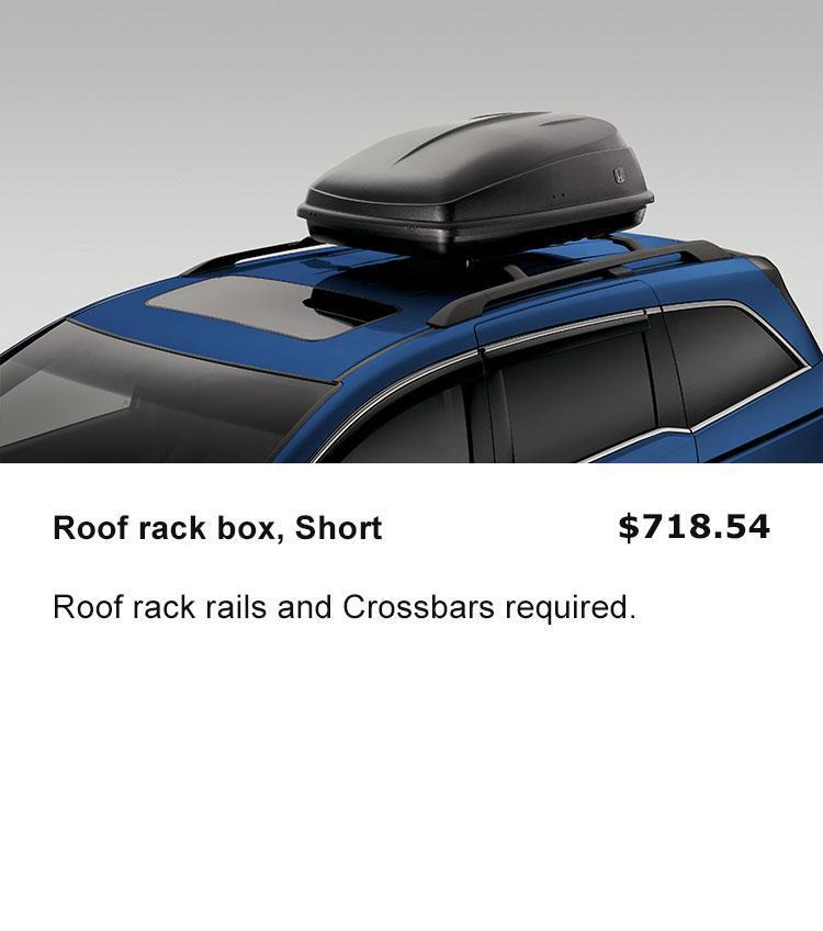 Roof Rack Box, Short