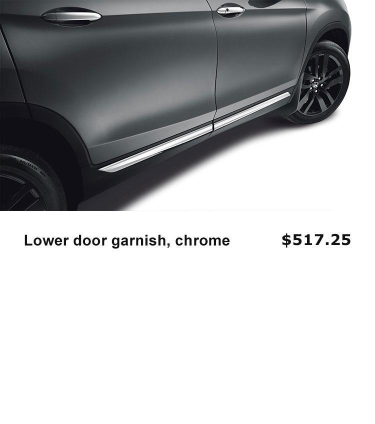 Lower Door Garnish, Chrome