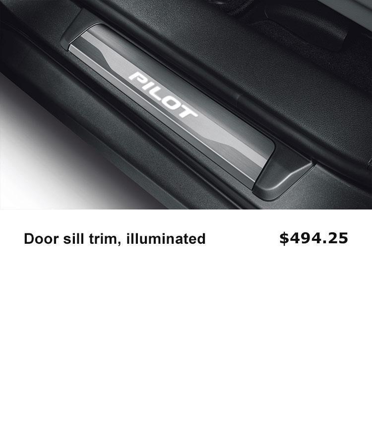 Door Sill Illuminated