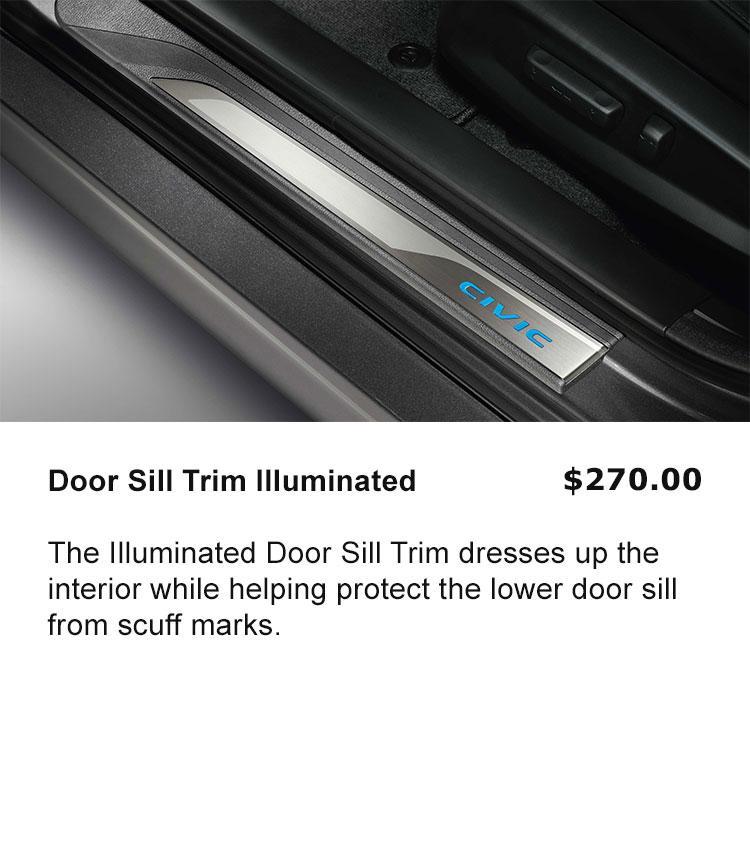 Door Sill Trim, Illuminated