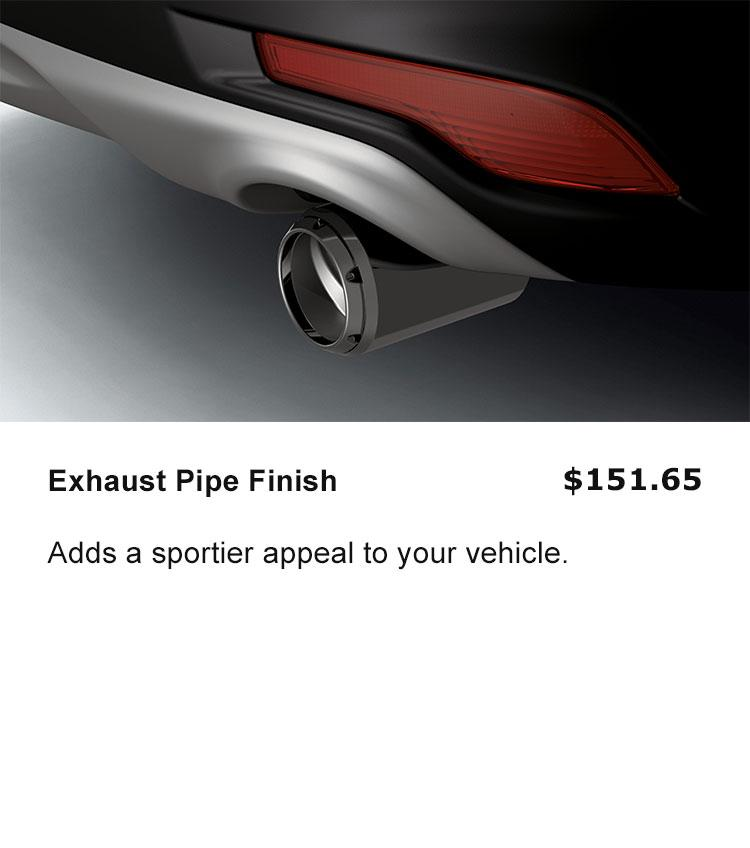 Exhaust Pipe Finish