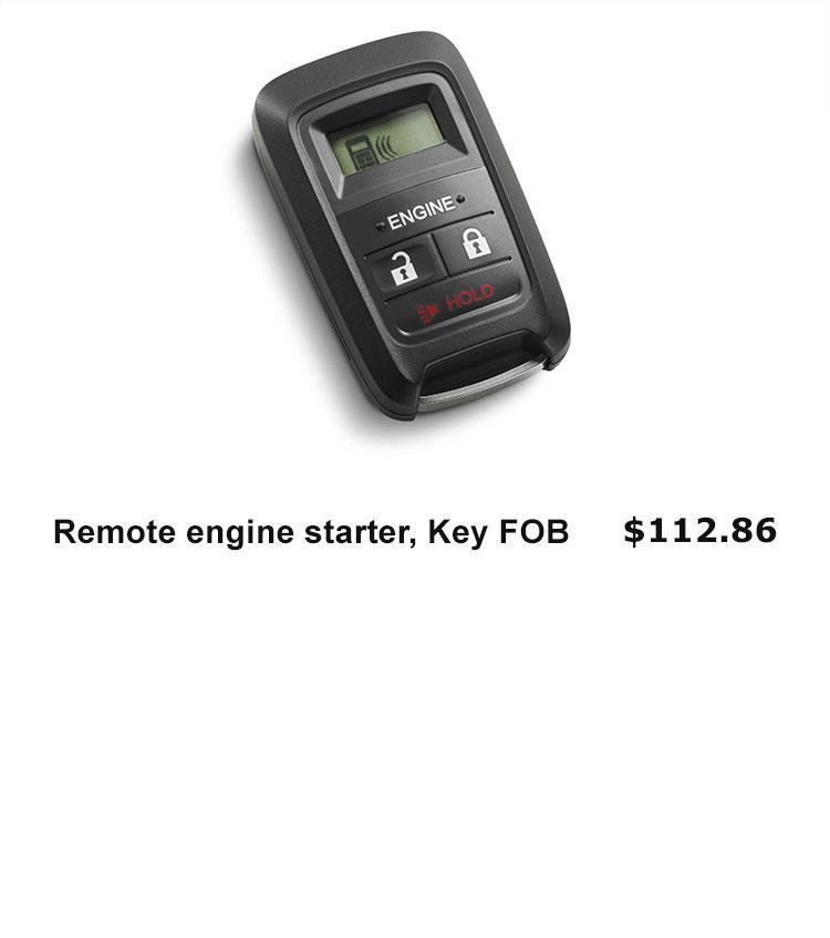 Remote Starter, FOB