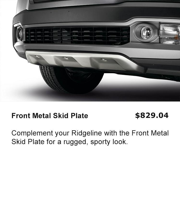 Front Metal Skid Plate