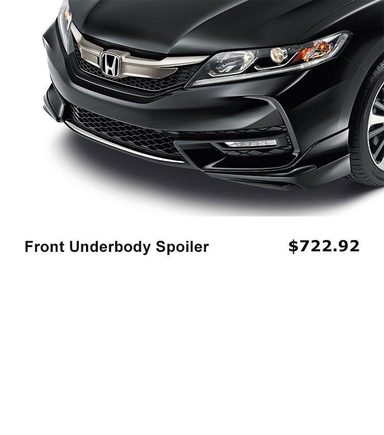 Front Underbody Spoiler