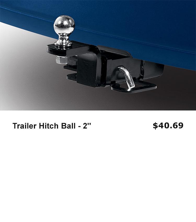 "Trailer Hitch Ball - 2"""