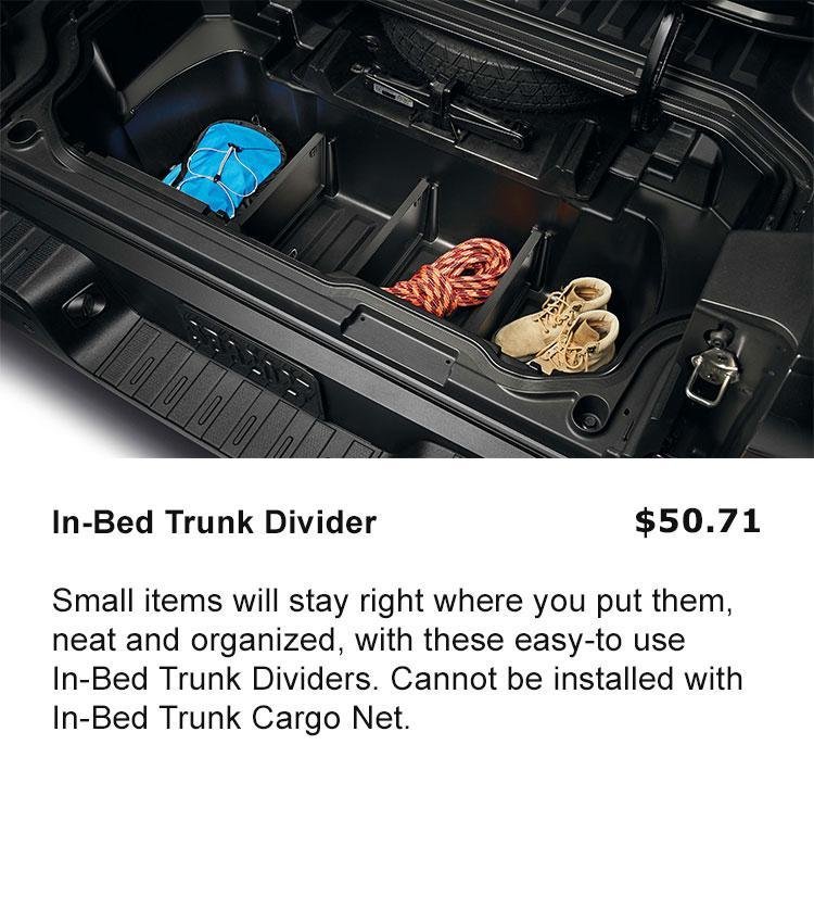 In-Bed Trunk Divider