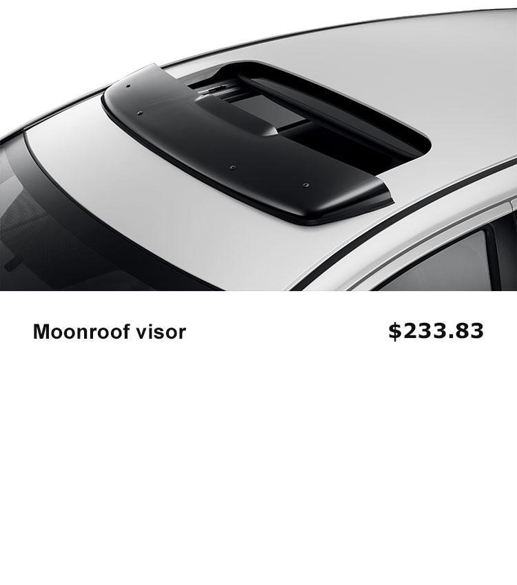 Moonroof Visor