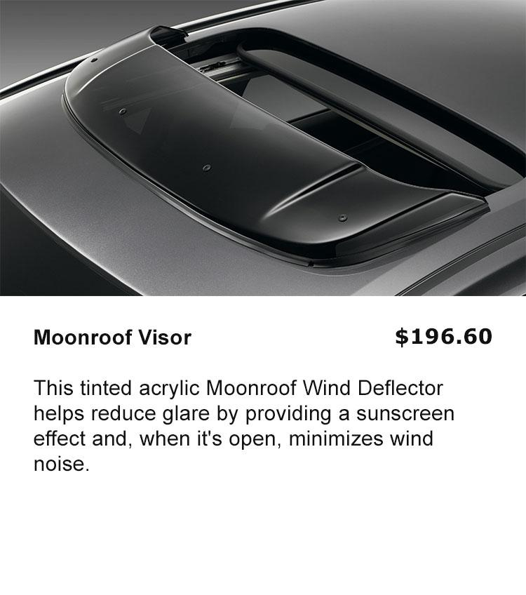 Moonroof Deflector