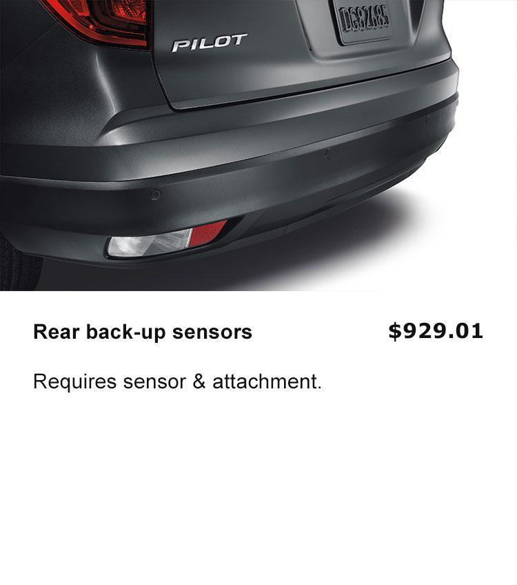 Rear back-up sensor