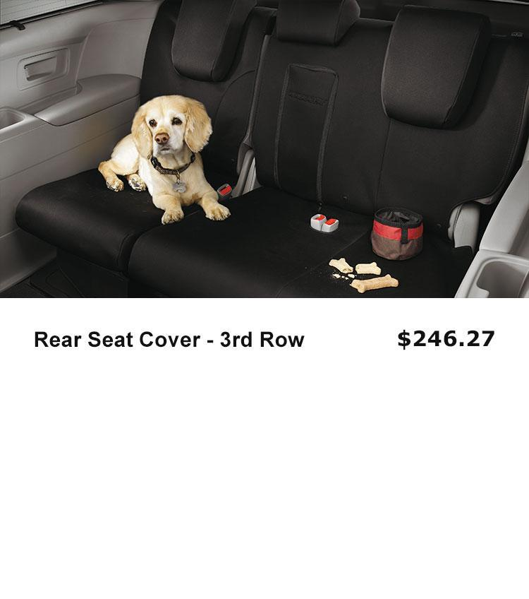 3rd Row Seat Cover