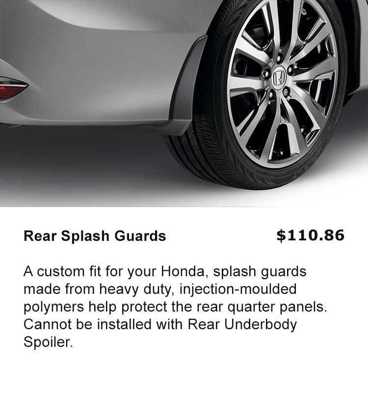 Rear Splash Guards
