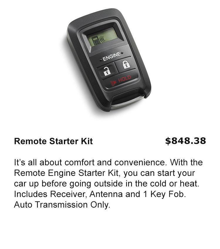Remote Start Kit